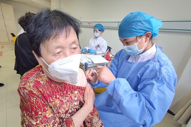 亳州老年人开始接种一针剂新冠疫苗