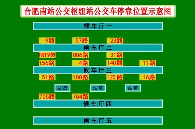 合肥11路公交车入驻合肥南站