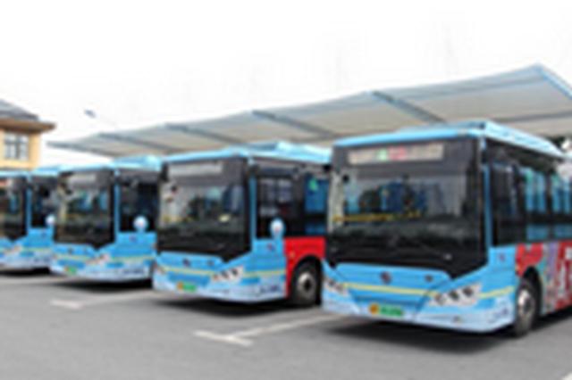 滁州十余条公交线路临时绕行