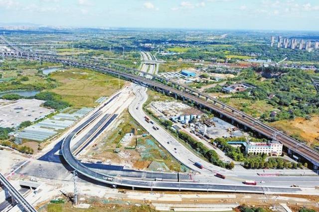 芜湖:大茆立交预计11月底具备通车条件