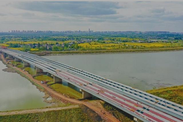 荆山河特大桥主体已现