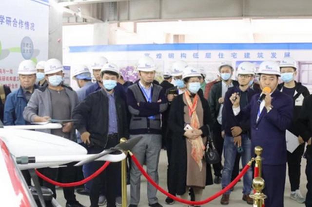 2021年长三角(安徽)装配式建筑观摩会在阜阳举办