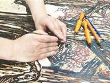 国内最大原版木刻版画《巢湖颂》落户安徽名人馆