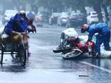 """安徽萧县:""""温比亚""""一路北上  多地强降雨"""