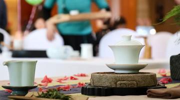 赏一场茶艺 饮一杯春茶
