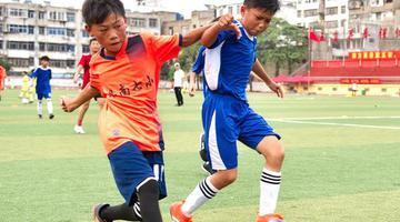 安徽阜南:足球夏令营为乡村孩子筑梦