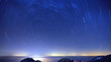 到黄山寻找璀璨的皓月星辰
