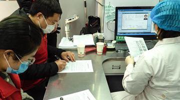 五河县无偿献血志愿者在行动