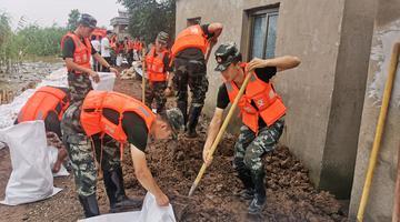 武警专业救援部队紧急驰援芜湖