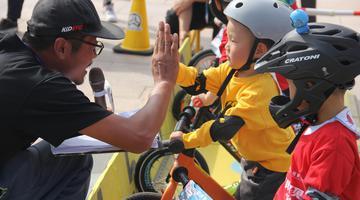招牌宝贝 一骑出发:儿童平衡车嘉年华开赛