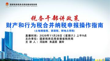 财产税和行为税合并纳税申报操作指南