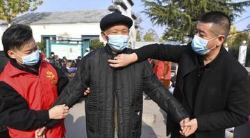 亳州:关爱老人践行志愿精神