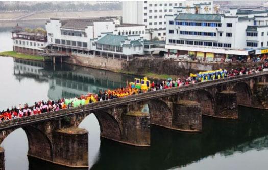 镇海桥 资料图(来源:屯溪发布)