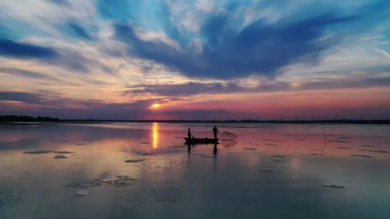 滁州市女山湖景区一角   (图源:滁州文化旅游公众号)