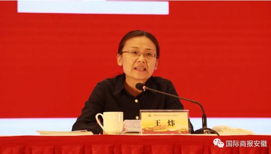 安徽省委组织部副部长、省委非公工委书记王炜讲话