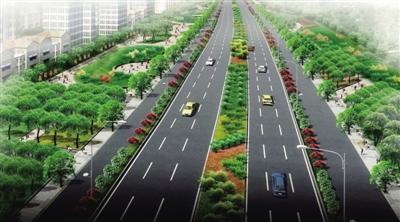 道路效果图