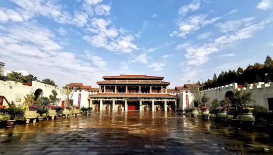 谯城区亳州博物馆(图源:亳州市文化旅游体育局公众号)