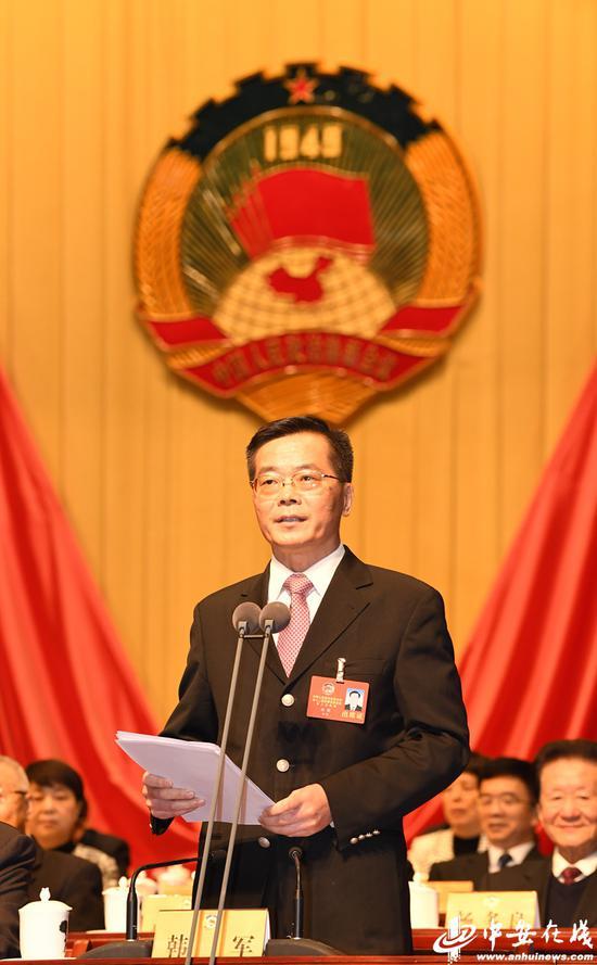 省政协副主席韩军主持大会(陈群 摄)