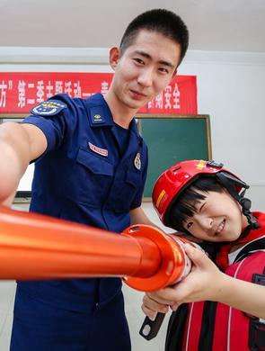 安徽铜陵:防溺水安全教育进校园