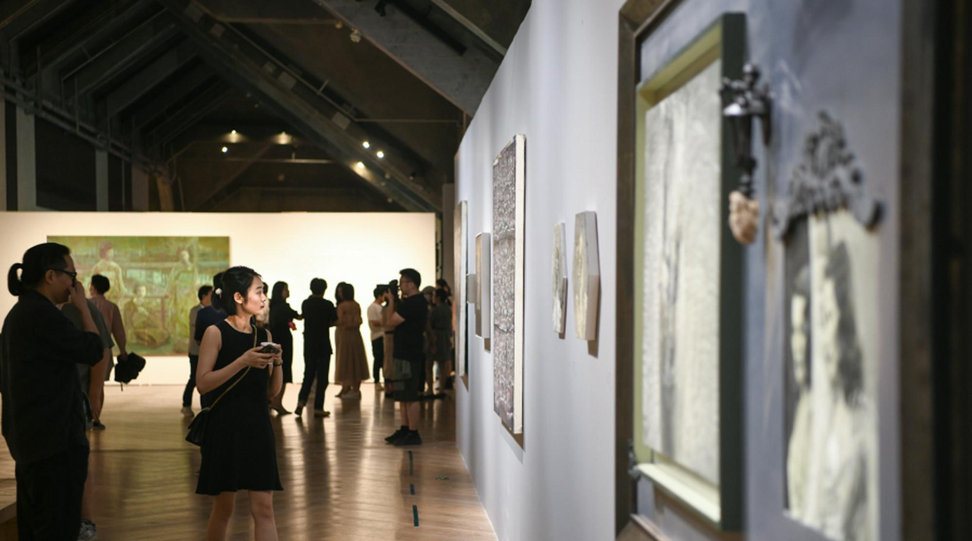知名画家齐聚合肥联展《日常的仪式》
