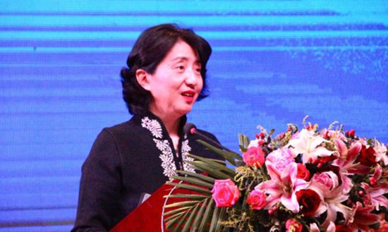中国旅游饭店业协会辛涛秘书长为本次大会发表致辞