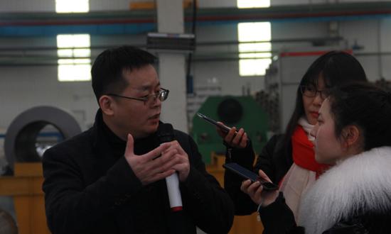 媒体采访安徽力慕新材料科技有限公司