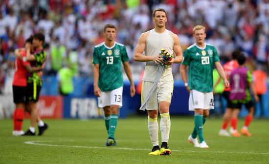 最稳的德国队没能冲出小组
