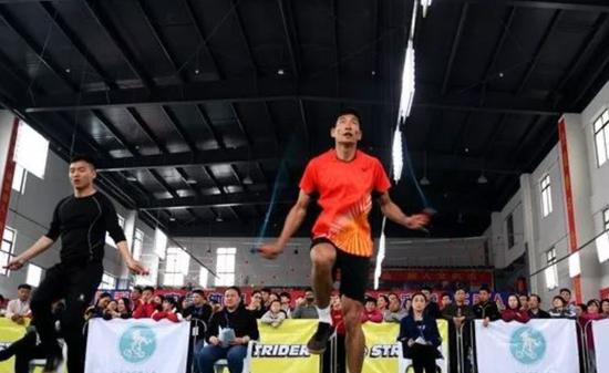 合肥市全民健身运动会跳绳比赛在肥东举行