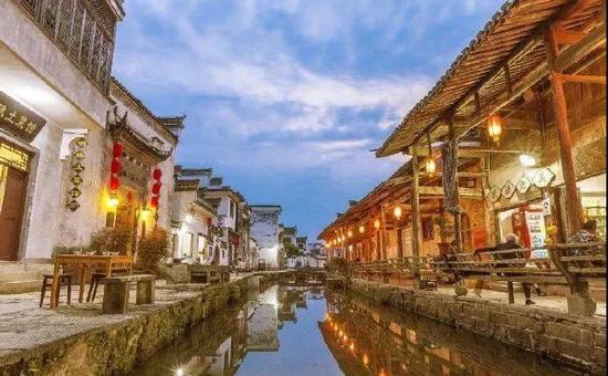 来源:黄山唐模旅游景区