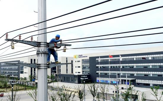 定远:菲律宾太阳申博申请提款,全力服务重大项目电力建设