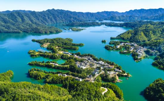 黄山区太平湖景区(图片来源:安徽省文化和旅游厅)