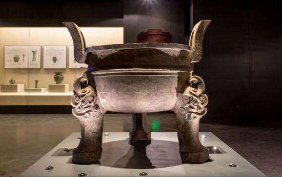 铸客大鼎(图源:安徽博物院公众号)