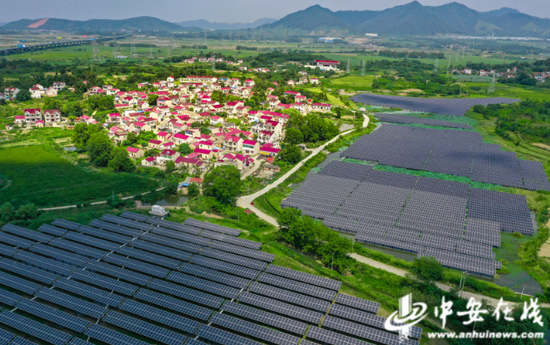 光伏发电为当地带来显著的经济效益,为乡村振兴提供有力的抓手