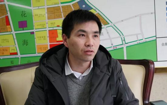 媒体采访蜀旺公司副总王维东