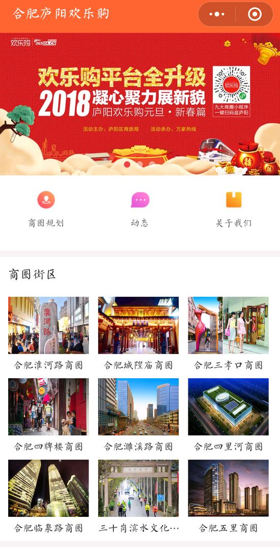 """拥抱""""互联网+""""搭建云商平台 购开启庐阳商业发展新纪元"""