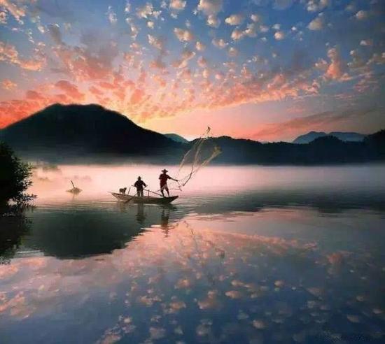 """山水画廊的美,在于她的""""清"""" 摄影:@步行禅者"""