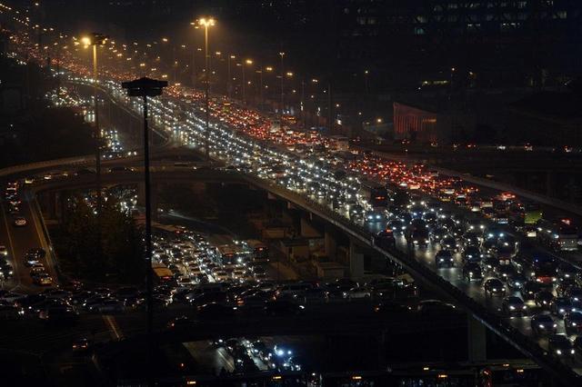中部六省最堵的十座城市 合肥排第一
