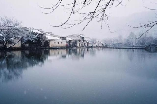 大雪来了 这些中国古镇就美成了人间天堂