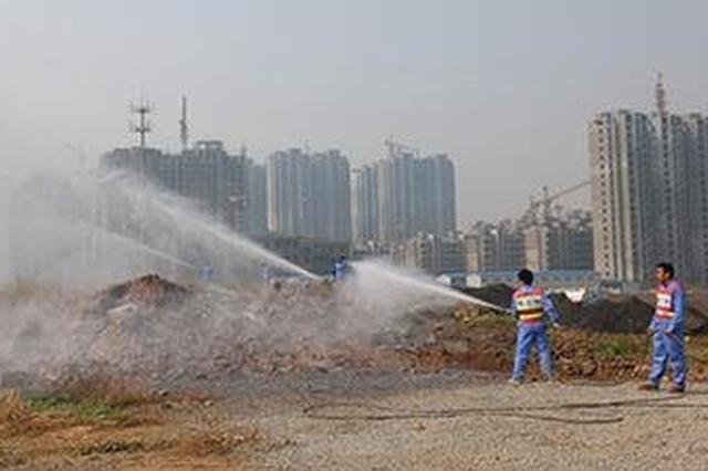 安徽省首张罚单 滁州一房地产项目因扬尘污染被罚20万