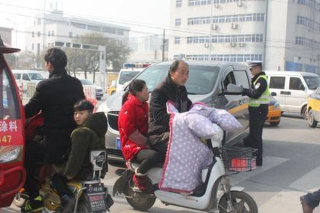 亳州市区已查处1308起未礼让斑马线违法行为