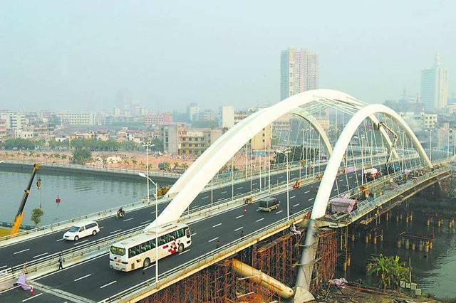 芜湖新中山桥改建顺利推进