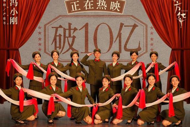 冯小刚首部10亿+ 《芳华》上映14天票房破10亿