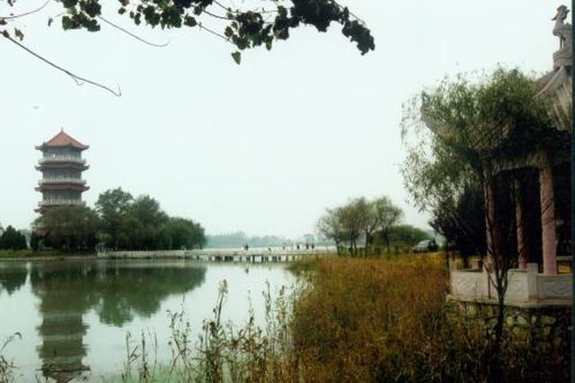 阜阳颍州西湖风景区初步规划出炉 水面达6.6平方公里