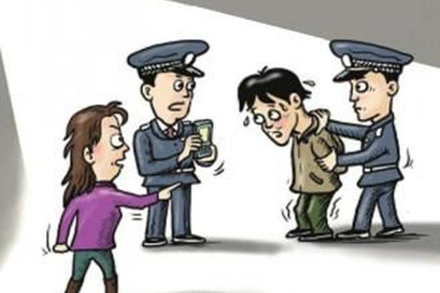 网逃男子与小区保安发生纠纷 引来警察被抓获