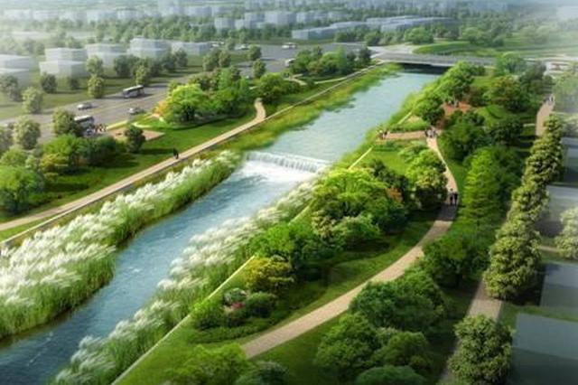 颍东建立15条河沟水域岸线生态管护网