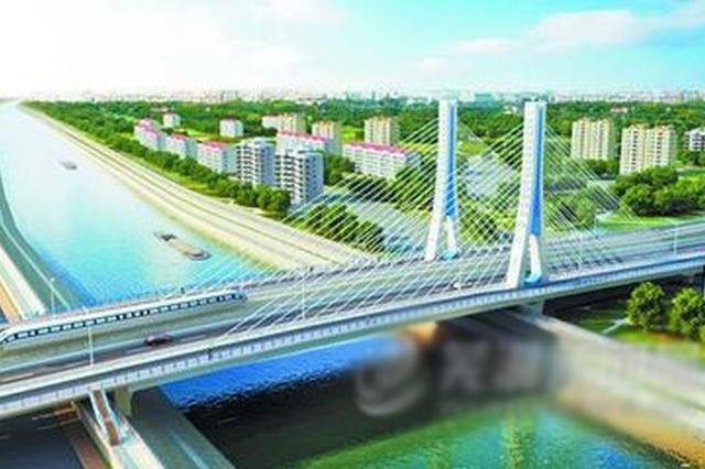 芜湖中江桥施工进入关键阶段 拟明年4月18日竣工通车