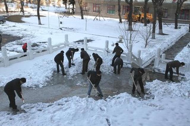 合肥最大积雪深度或达35厘米 今明两天强降雪集中