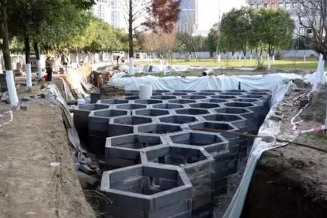合肥首批海绵小区试点2月底完工