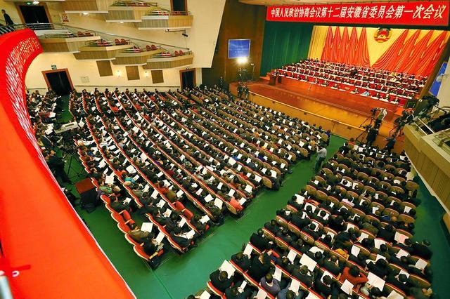 建言献策 共谋发展——省政协十二届一次会议剪影