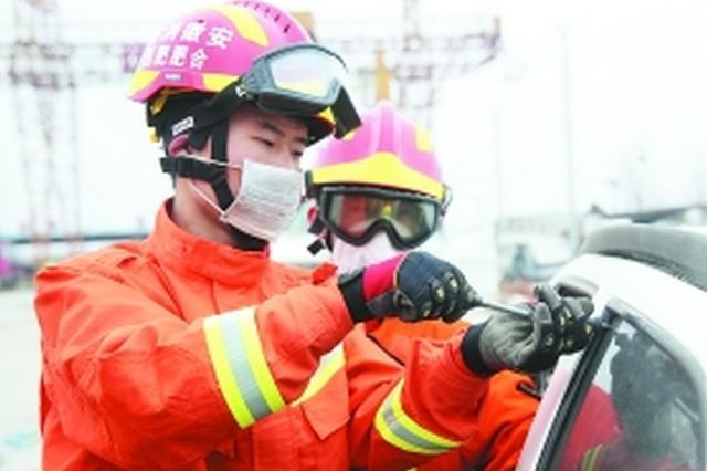 合肥新增车辆事故救援专队 首次设卫生员岗位
